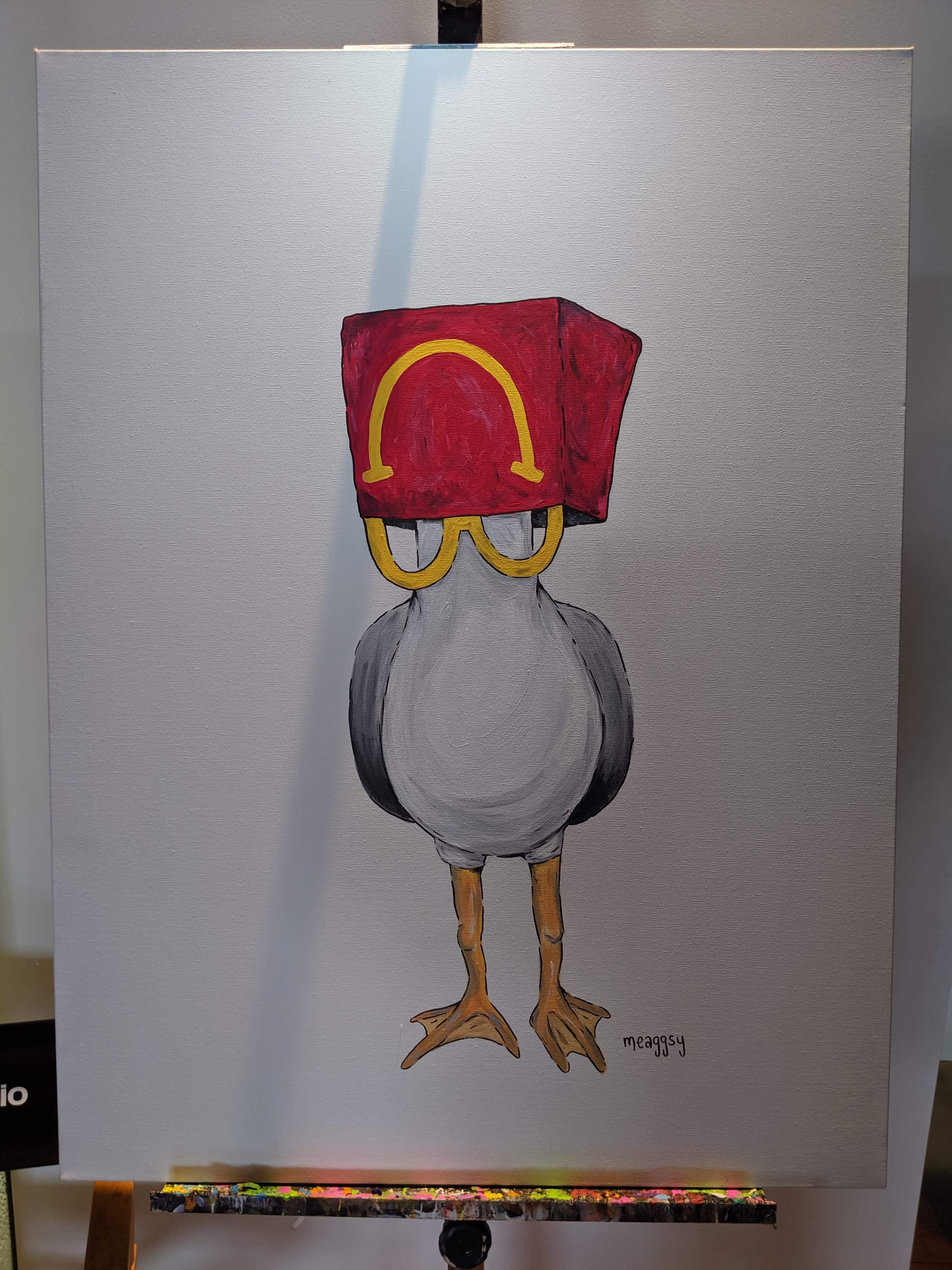 McSeagull by Meaggsy (Women's Herstory Edition)